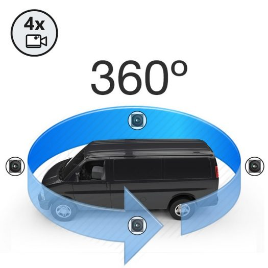 360 vehicle cctv systems