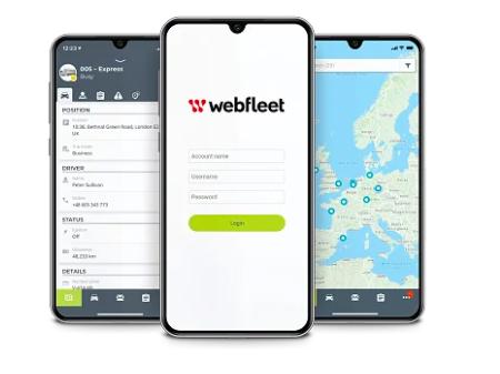 webfleet mobile app